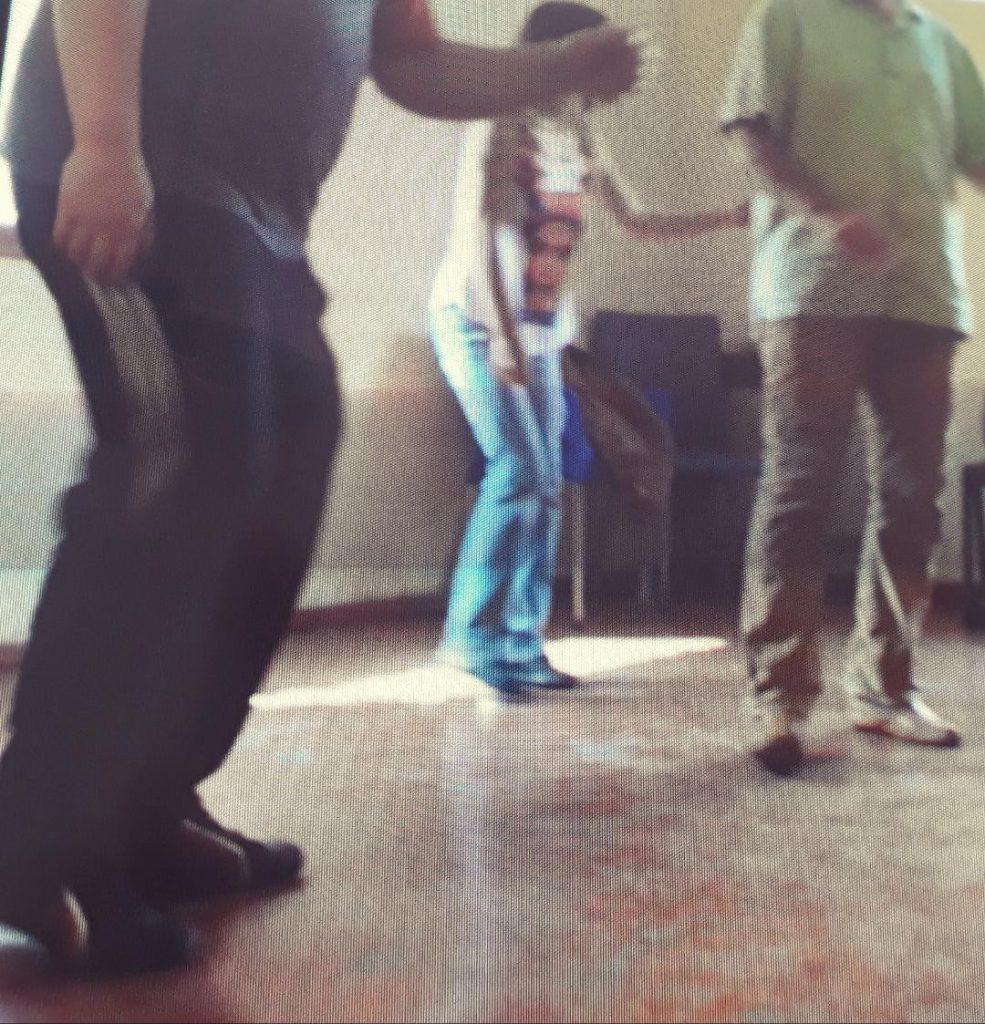 movimiento corporal arte