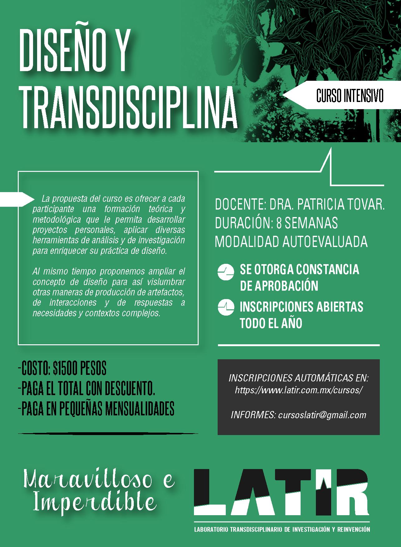 Diseño y Transdisciplina